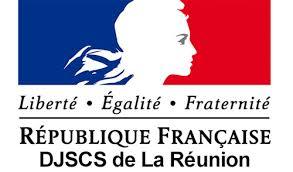 Logo de la DJSCS Réunion